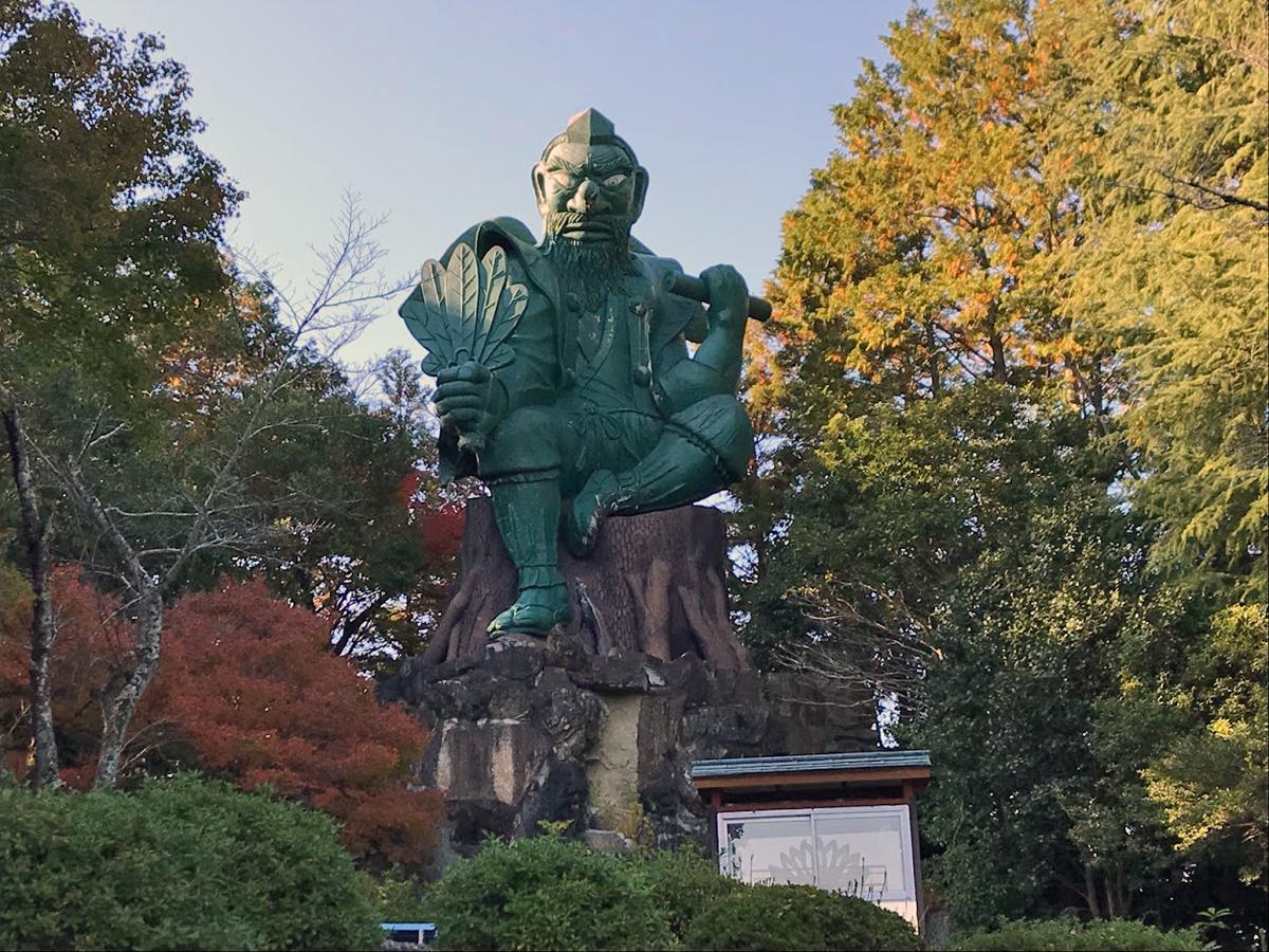 こびの天狗は日本一大きい