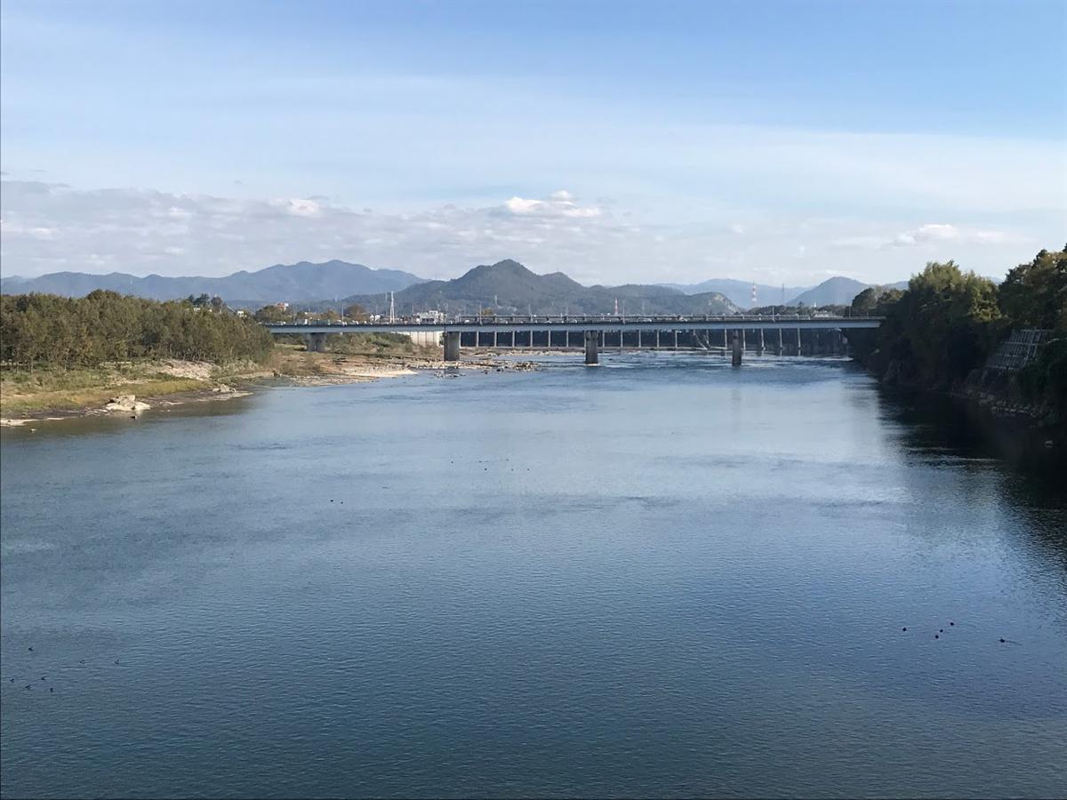 木曽川と新太田橋