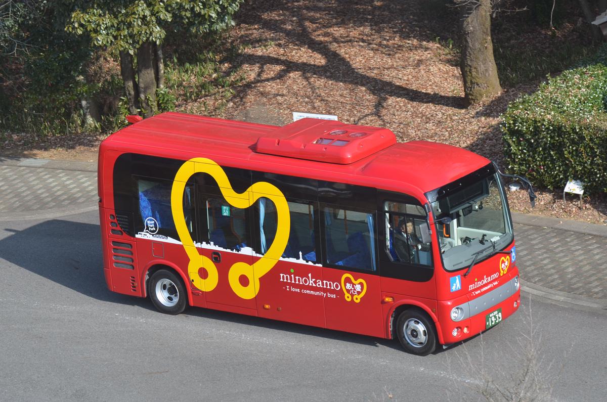 美濃加茂市のあい愛バス