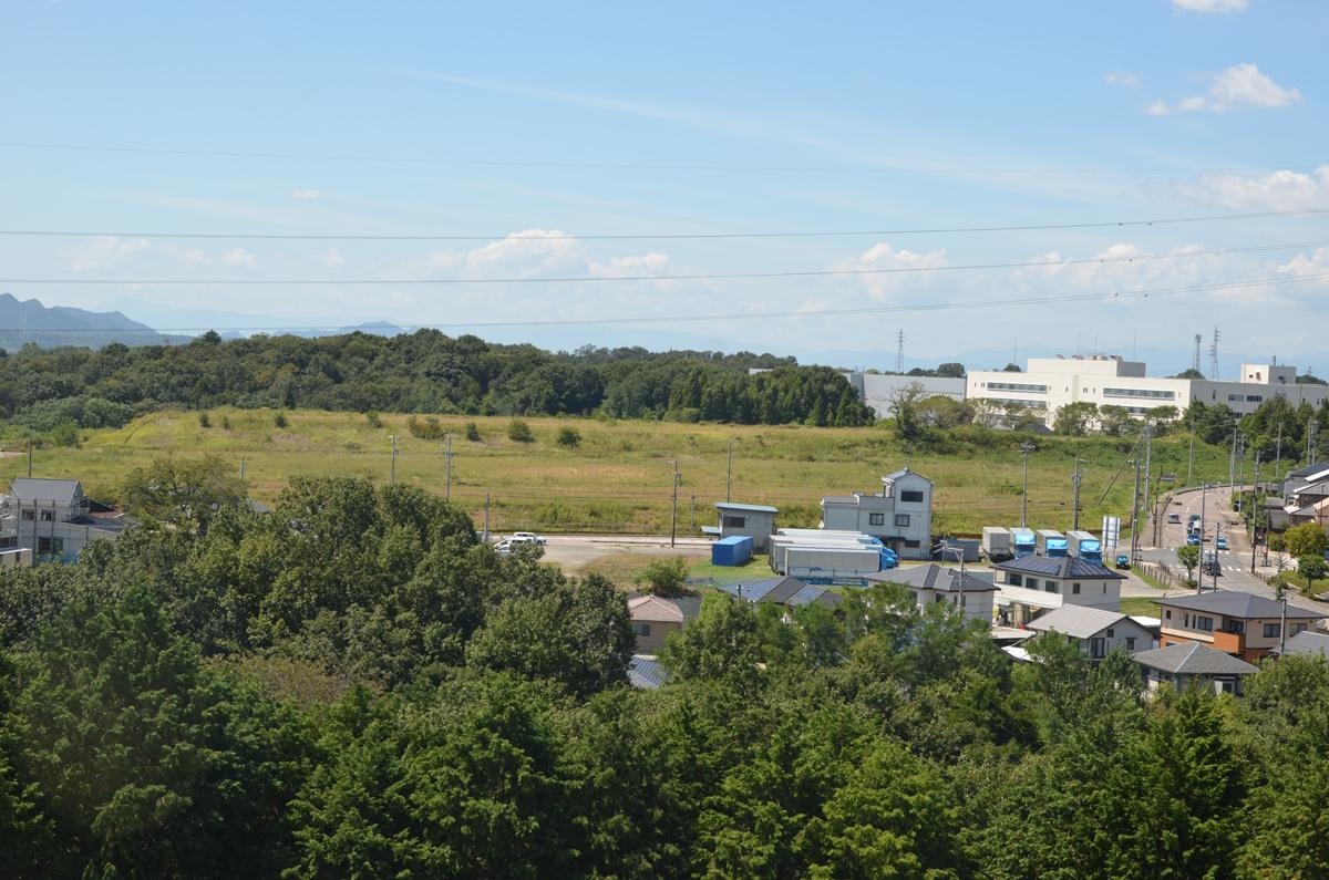 中部台の総合医療センター(仮称)建設予定地