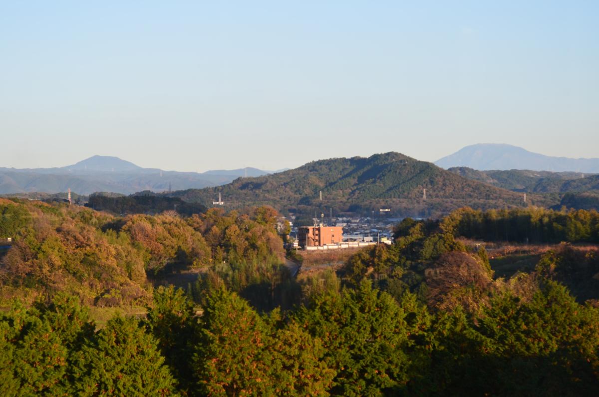 笠置山と恵那山
