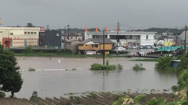 美濃加茂市加茂川