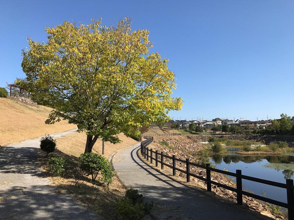 美濃加茂市の特徴的な公園